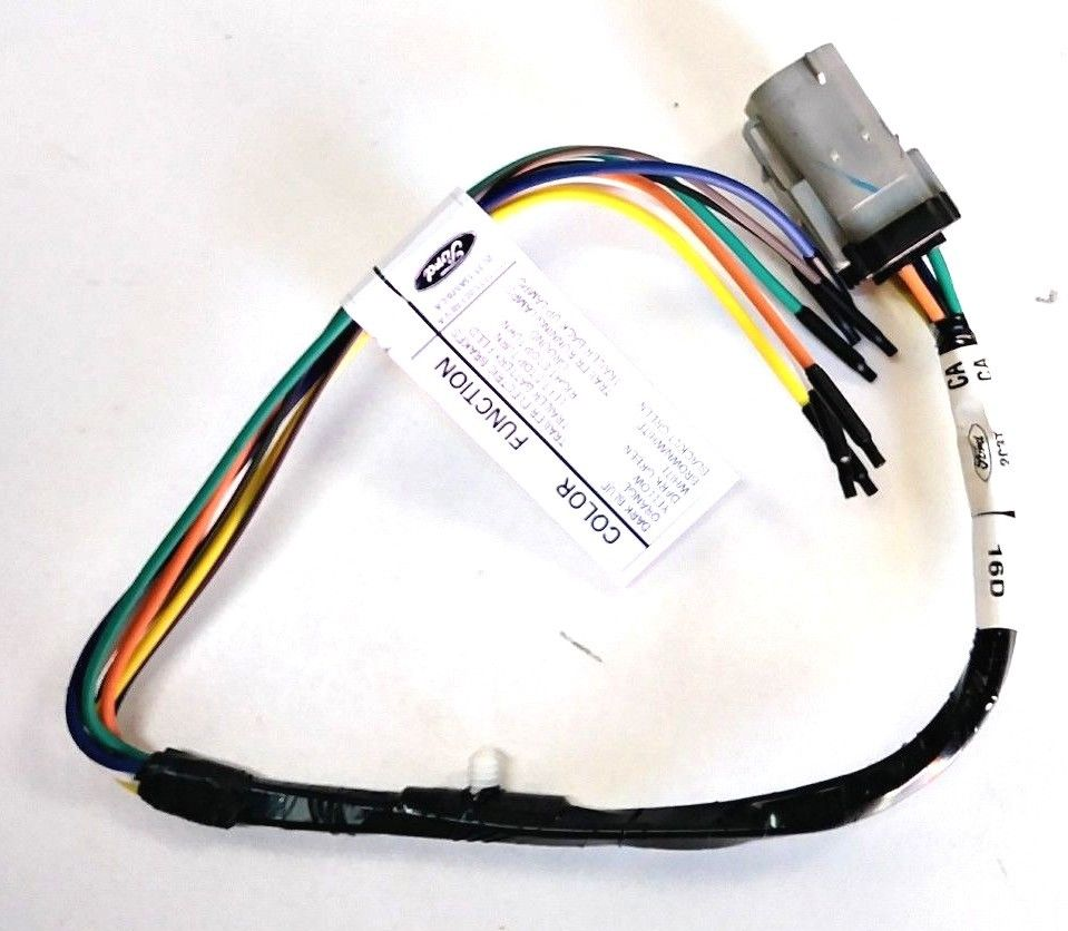 New OEM Ford F250 F350 F450 F550 Trailer Hitch Wiring Harness 02-04  2C3Z13A576CA 2C3Z