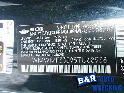 ANTI-LOCK BRAKE PART FITS 07-08 MINI COOPER 6595868 545-51372 6595868
