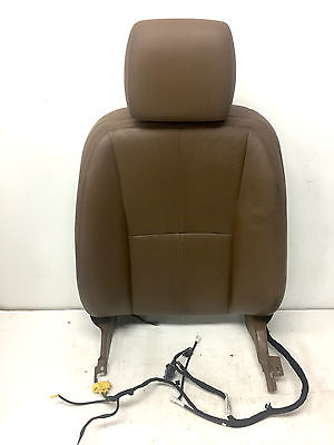 2007 Mercedes W221 S550 S600 Front Driver Upper Left Said Leather Seat OEM