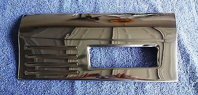 Original 89-90 Regency Lower LH Front Fender Molding Chrome Rocker Panel Trim