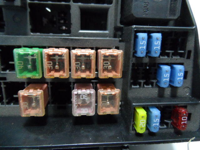 2003 lincoln ls fuse box 2004 lincoln ls fuse box lincoln ls 2003-2006 front fuse relay box oem xw4t-14a075 ...