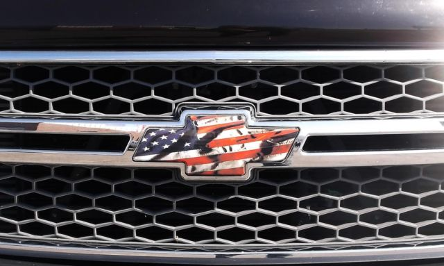 chevy bowtie american flag 9 11 decals 2 silverado 2007. Black Bedroom Furniture Sets. Home Design Ideas