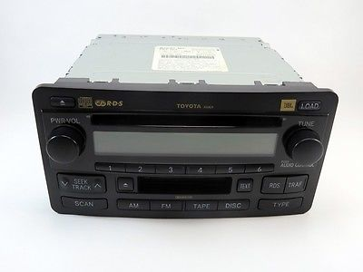 2003 2004 toyota jbl sequoia tundra radio 6 disc changer. Black Bedroom Furniture Sets. Home Design Ideas