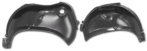 62 63 64 65 Nova Chevy II 2 Outer Wheelhouse PAIR