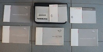 2009 nissan altima owners manual