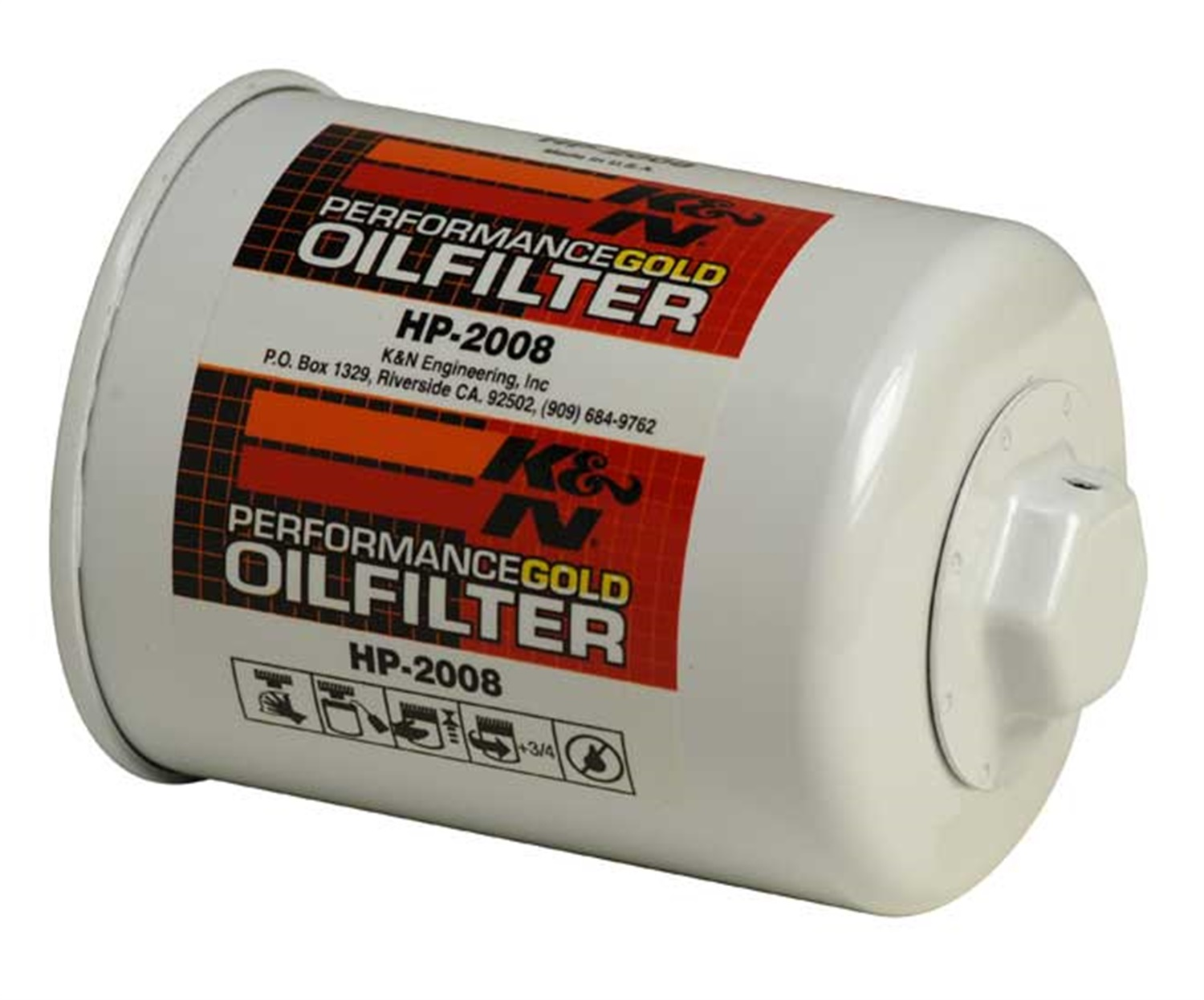 K&amp;N Filters HP-2008 Performance Gold; <em>Oil</em> <em>Filter</em>