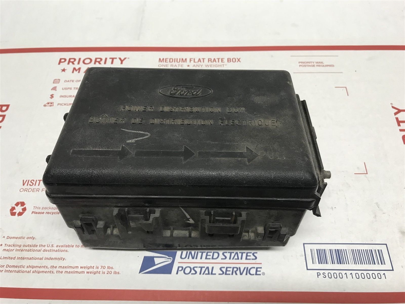 Ford Fuse Box Relay Oem F65b 14a0003 C Does Not Apply Domestic