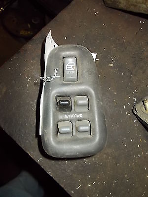 Master Power Window Switch LH 1999 Pontiac Bonneville, 4 door, gray