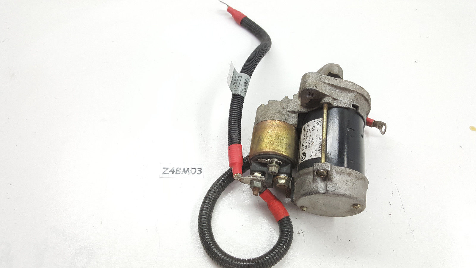 03-2004-05 BMW Z4 STARTER + SOLENOID + cables E85 7515392  7515390 7515392