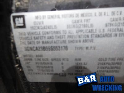 05 06 07 08 09 10 COBALT AIR FLOW METER 9069864 336-05258 9069864
