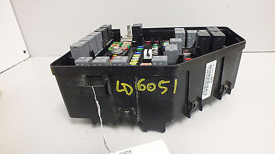 11 2011 gmc acadia engine compartment fuse box with tow pkg 20913283 #908f  20913283