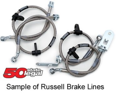 Russell Brake Lines 684600 Civic with rear discs no ABS