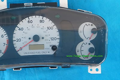 81480bfd bb10 4f63 8ef5 e96d4afb7ebb mitsubishi mirage speedometer instrument cluster w tach white mirage tachometer wiring at mifinder.co