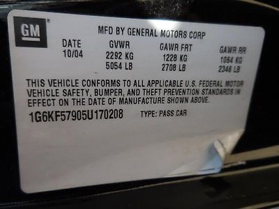 04 05 DEVILLE ENGINE ECM ELECTRONIC CONTROL MODULE LH ENGINE COMPARTMENT 9020153 9020153