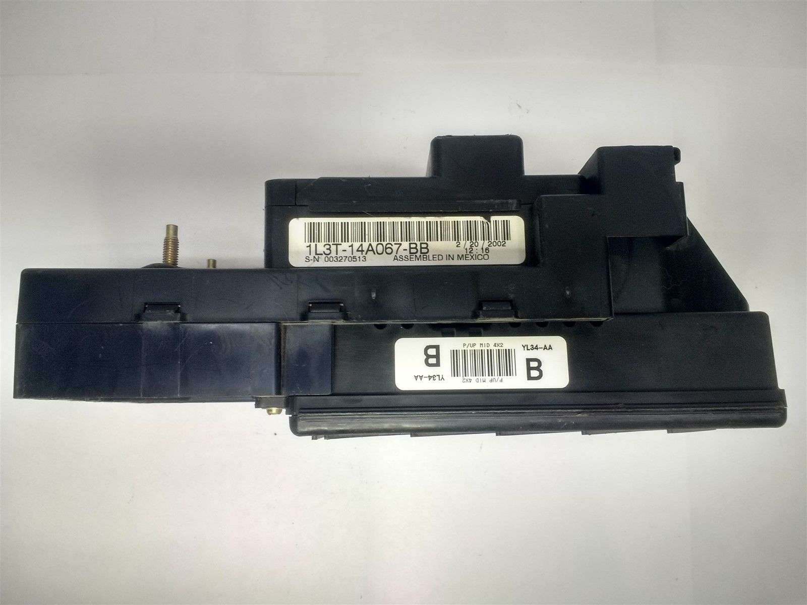 2001 Ford F150 Interior Dash Fuse Box Junction Relay Box with GEM  1L3T-14A067-