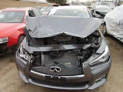 15 INFINITI Q50 AUTOMATIC TRANSMISSION 7 SPEED 3.7L RWD FROM 10/14 9105540