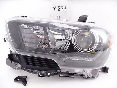 OEM HEAD LIGHT HEADLIGHT LAMP TOYOTA TACOMA 2017 ALL BLACK LED TRD PRO 16 17
