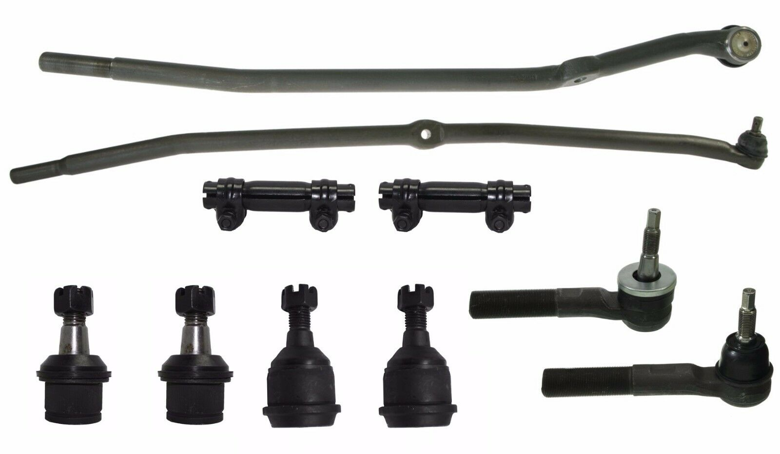Ball Joint Tie Rod Drag Link Dodge RAM 3500 2500 03-07 4x4 (LATEST DESIGN)
