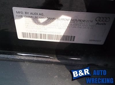 06 07 08 09 10 11 12 13 AUDI A3 R. REAR DOOR GLASS 8785078 278-50100R 8785078