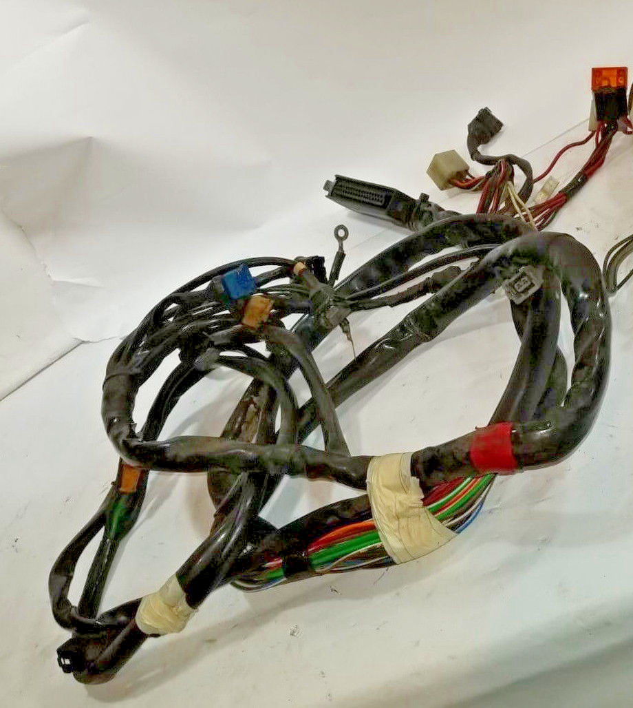 Alfa Romeo Spider Engine Ecu Electronic Injection Wiring Harness And Ef Plugs