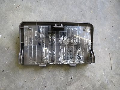 acura integra oem fuse box cover diagram