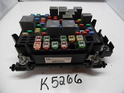 03 04 05 06 AVALANCHE ESCALADE 15201930 FUSEBOX FUSE BOX RELAY UNIT MODULE K5266 15201930  15811689 15786043 K5266