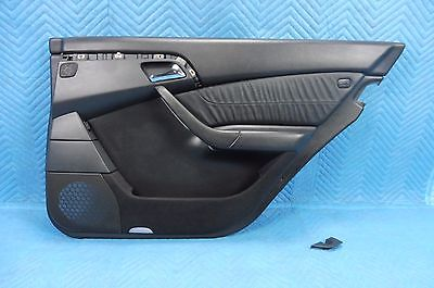 2000-2006 MERCEDES W220 S430 S500 Rear Right Door Panel Interior Trim Black OEM