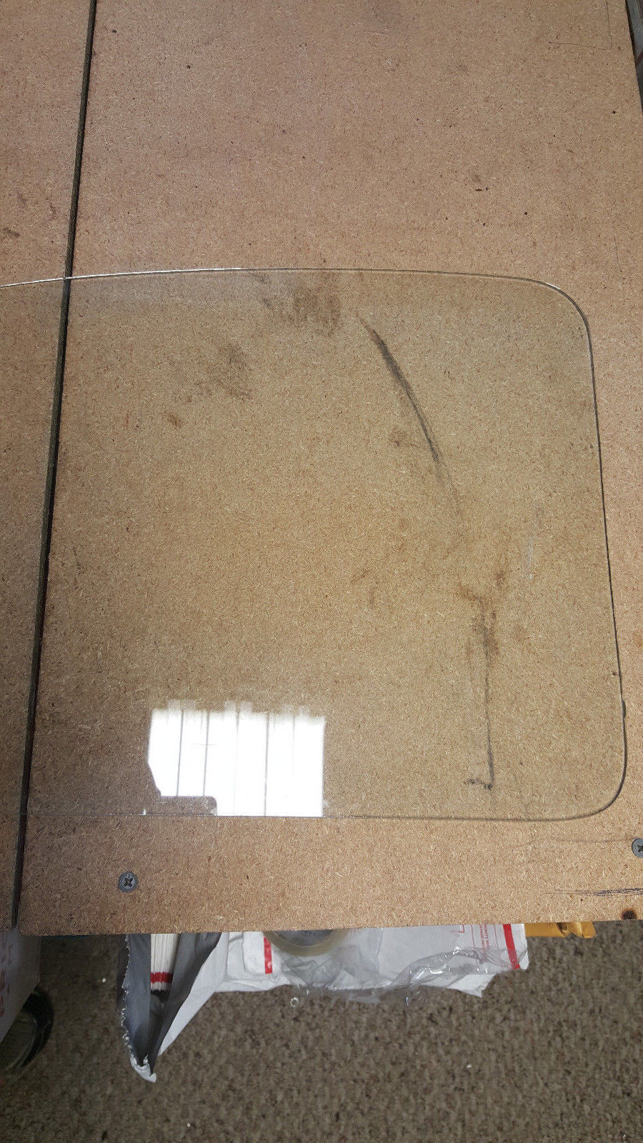 1965-78 VW Beetle LH/Driver Side Rear Quarter Window Glass ARM-R-CLAD AS2 M61 10 Does not apply