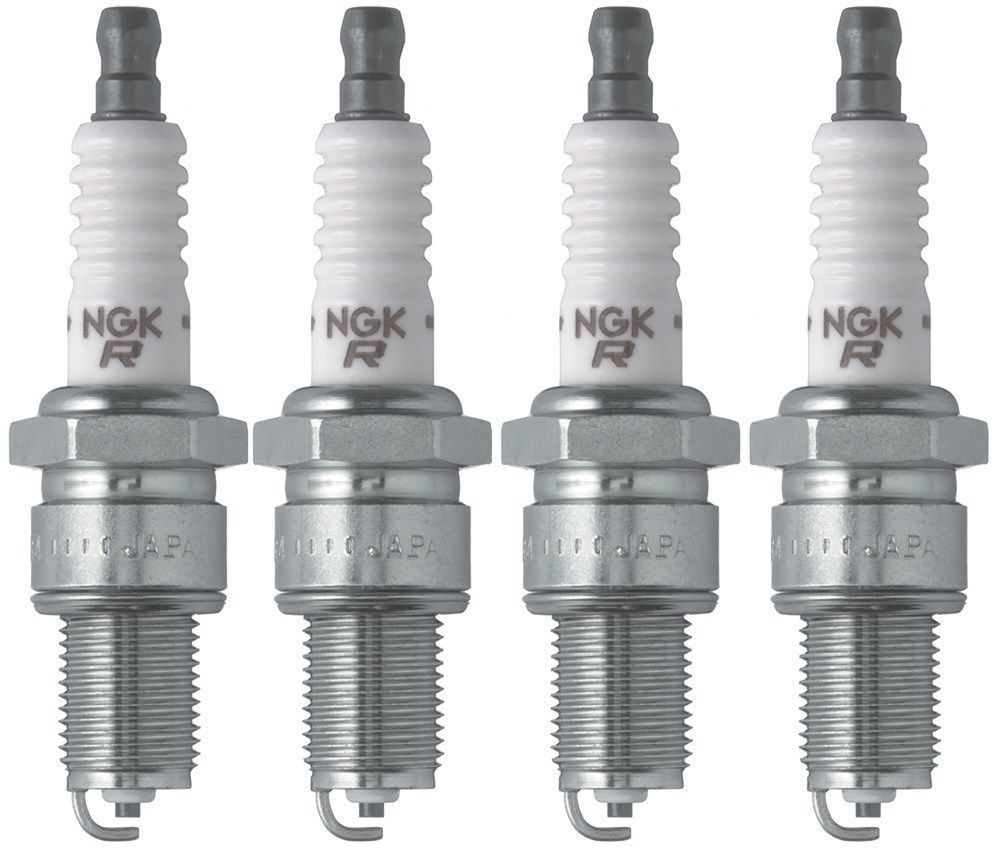 4-New NGK Copper Spark Plugs BCPR5ES  #6130 Made in Japan