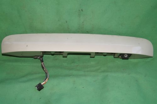 08 09 Enclave Acadia Rear Back Up Reverse Camera w/Tail Finish Panel Trunk Trim 149499