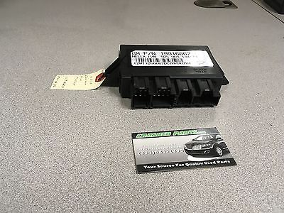 Chevrolet Equinox Heated Seat Module P/N # 15916667