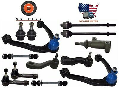 New 19 pc Complete Front Suspension Kit for GMC YUKON XL 1500 2000-2006 4WD K80942 K80826 K80631 SK80631 K6541 B6541
