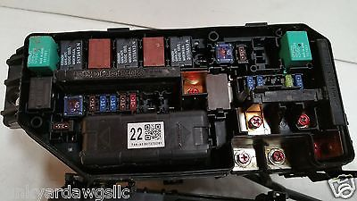 2008 2009 2010 honda accord 3 5l fuse box block relay panel used oem 1998 honda accord fuse box location 2008 2009 2010 honda accord 3 5l fuse box block relay panel used oem 650
