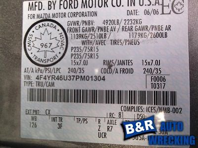 95-00 01 02 03 04 05 FORD EXPLORER L. LOWER CONTROL ARM FR 4 DR SPORT TRAC 8758873