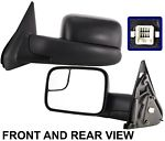 NEW Pair Side View Door Mirror Left &amp; Right Kool-Vue Brand DG44EL-<em>DG44ER</em>