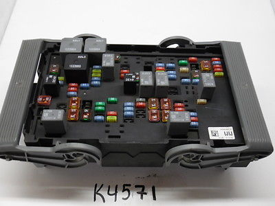 07 09 silverado 1500 25905683 fusebox fuse box relay unit module07 09 silverado 1500 25905683 fusebox fuse box relay unit module k4571 25905683 k4571