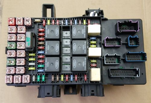 03 expedition fuse box 03 f150 fuse box 03-06 navigator expedition fuse box power distribution oem ... #14