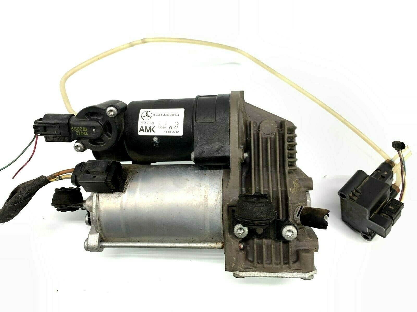 <em>Mercedes</em>-<em>Benz</em> W251 R63 R500 R350 R320 <em>AMG</em> Air Ride Suspension Compressor Pump