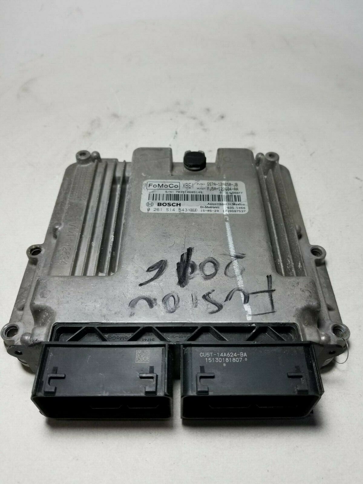 2013-2016 FORD FUSION  Engine Motor Brain Box GS7A-12A650-JB
