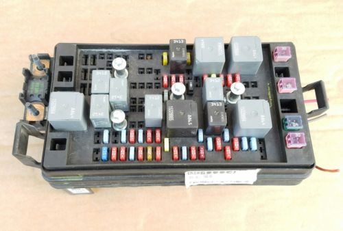 [WQZT_9871]  2007 COLORADO CANYON BODY CONTROL BCM FUSE BOX OEM pn: 15815676 , 15815676,  0641114 | 2007 Colorado Fuse Box |  | JustParts