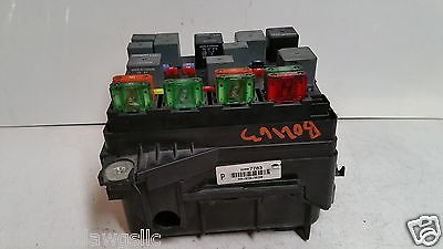 2003 chevrolet bu 3 1l fuse box block relay panel used oem 583 2003 chevrolet bu 3 1l fuse box block relay panel used oem 583 22697783 fb