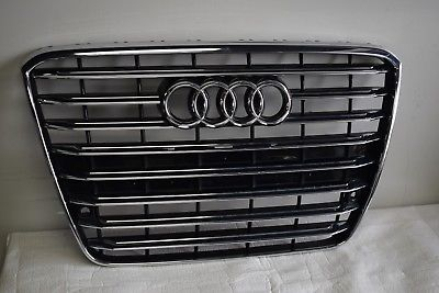 AUDI A8 QUATTRO FRONT RADIATOR GRILLE GRILL FACTORY OEM 4H0853651G