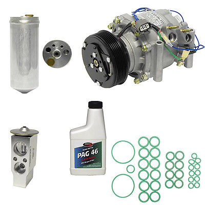 NEW AC COMPRESSOR  INSTALL KIT SEE COMPATIBILITY 1196 2002-2005 HONDA CIVIC 1.7 Kt 1196
