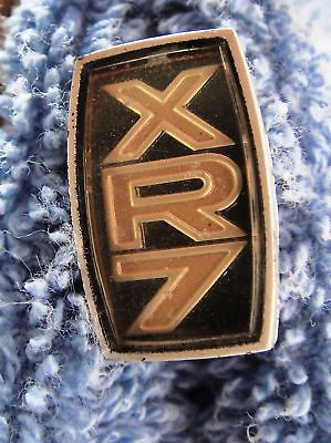 Original 1970's Mercury Cougar XR7 Steering Wheel Pad Emblem Ornament Insert