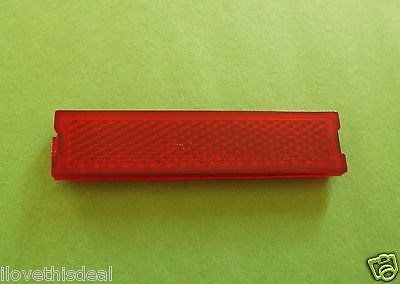Genuine 1972-1973 Lincoln MK IV Door Panel Light Lens-Red