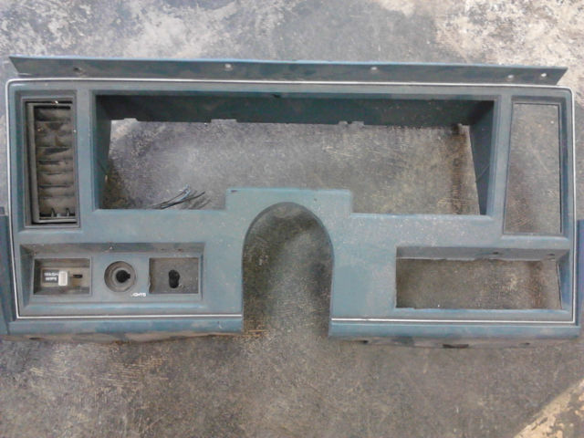 1972 Pontiac Ventura Dash Bezel Nice Condition