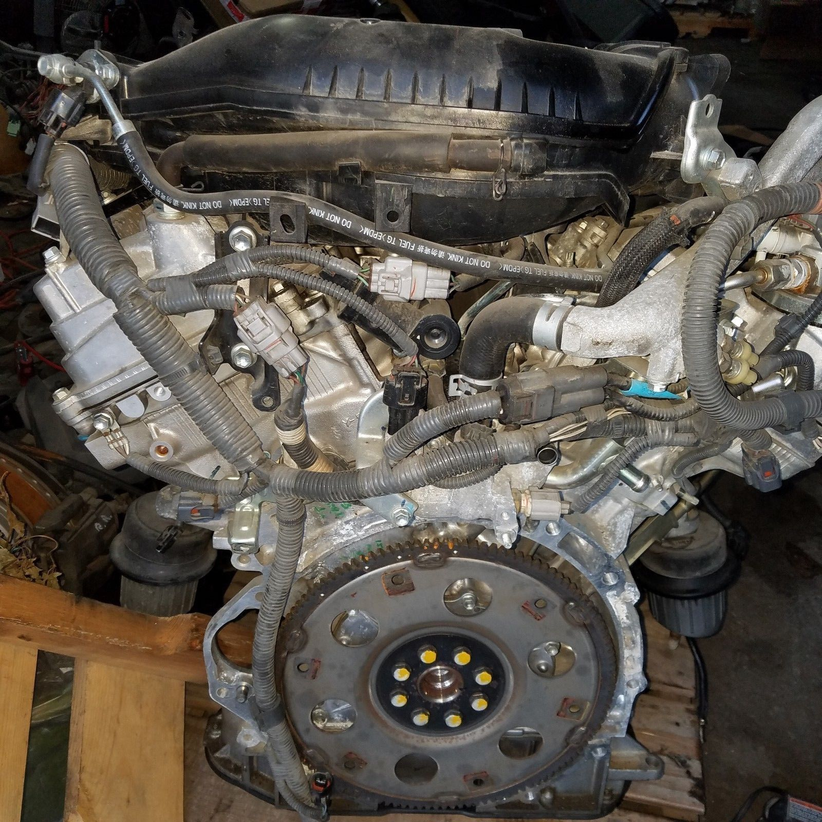 2006-2007-2008 LEXUS IS250 ENGINE MOTOR V6 2.5L RWD 129K MILES OEM Does Not Apply