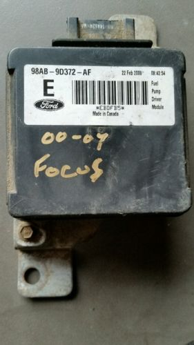 2000 2007 Ford Focus Fuel Pump Driver Module 98ab 9d372 Af