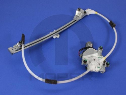 window regulator left mopar 68059647ab fits 03 06 jeep