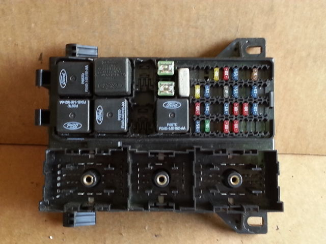 97 sable fuse box 2002 mercury sable bcm fuse box block panel used oem 2f1t ... 1989 mercury sable fuse box